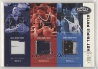 Jason Kidd, Steve Francis, Tracy McGrady #/75
