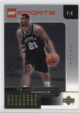 2002-03 Lego Sports - [Base] - Gold Foil #1 - Tim Duncan