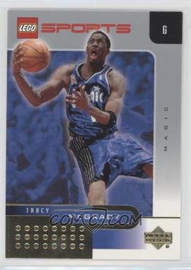 2002-03 Lego Sports - [Base] - Gold Foil #14 - Tracy McGrady