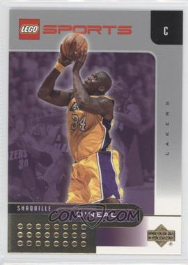 2002-03 Lego Sports - [Base] - Gold Foil #4 - Shaquille O'Neal