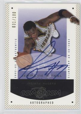2002-03 SP Authentic - [Base] - SP Limited #30 - Jermaine O'Neal /100