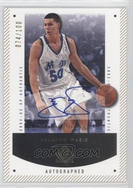 2002-03 SP Authentic - [Base] - SP Limited #67-A - Mike Miller /100