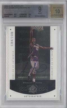 2002-03 SP Authentic - [Base] #150 - Autographed Rookie F/X - Amar'e Stoudemire /1500 [BGS9]