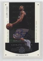 Autographed Rookie F/X - Carlos Boozer /1500