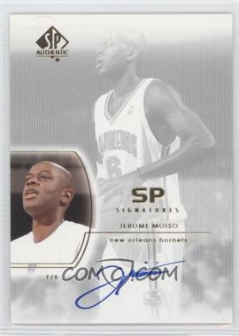 2002-03 SP Authentic - SP Signatures - [Autographed] #MO - Jerome Moiso