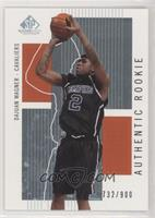 Authentic Rookies - Dajuan Wagner #/900