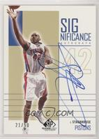 Jerry Stackhouse #/50