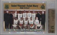 St. Vincent - St. Mary Fighting Irish Team [BGS 9.5 GEM MINT]