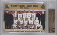 St. Vincent - St. Mary Fighting Irish Team [BGS9.5GEMMINT]