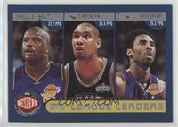 Shaquille O'Neal, Tim Duncan, Kobe Bryant, Allen Iverson, Paul Pierce, Tracy Mc…