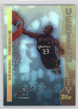 2002-03 Topps - Verticality #V8 - Michael Jordan