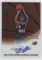 Tito Maddox #/1,100