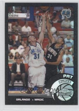 2002-03 Topps Chrome - [Base] - Black Border Refractor #130 - Pat Burke /99