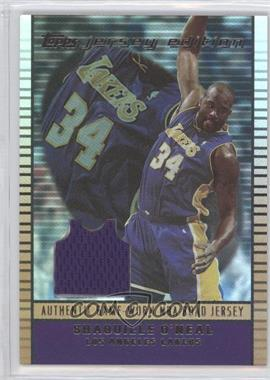 2002-03 Topps Jersey Edition - [Base] - Copper #je SO - Shaquille O'Neal /299