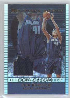 2002-03 Topps Jersey Edition - [Base] #je DN - Dirk Nowitzki