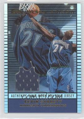 2002-03 Topps Jersey Edition - [Base] #je KG - Kevin Garnett