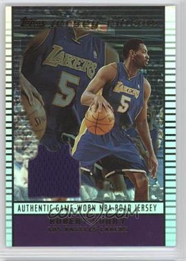 2002-03 Topps Jersey Edition - [Base] #je RHO - Robert Horry