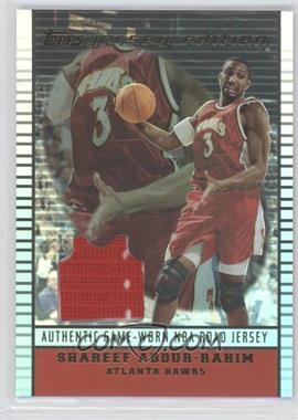 2002-03 Topps Jersey Edition - [Base] #je SA - Shareef Abdur-Rahim