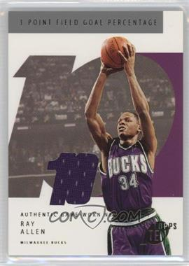 2002-03 Topps Ten - [Base] - Jersey #80 - Ray Allen /1500