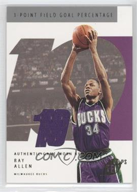 2002-03 Topps Ten - [Base] - Jersey #80 - Ray Allen /1500
