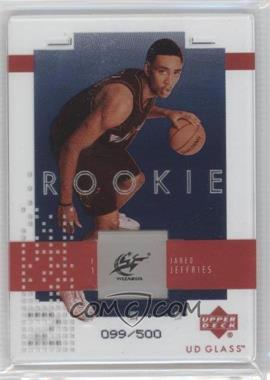 2002-03 UD Glass - [Base] #127 - Jared Jeffries /500