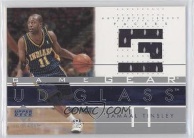 2002-03 UD Glass - Game Gear #JT-GG - Jamaal Tinsley