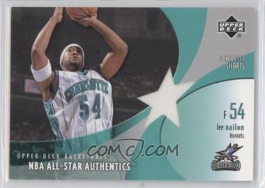 2002-03 Upper Deck - All-Star Authentics - Game-Used Shorts #LN-AS - Lee Nailon
