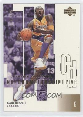 2002-03 Upper Deck Championship Drive - [Base] - Gold #37 - Kobe Bryant /125