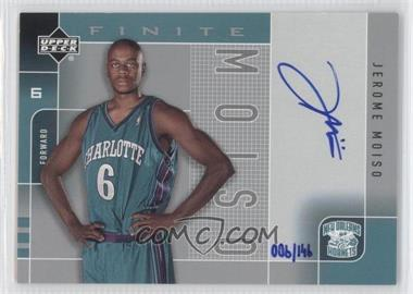 2002-03 Upper Deck Finite - Signatures #MO-A - Jerome Moiso /146
