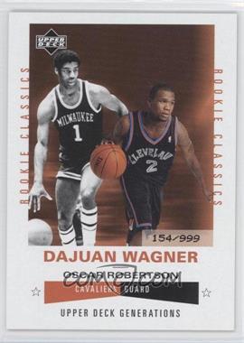2002-03 Upper Deck Generations - [Base] #198 - Dajuan Wagner /999