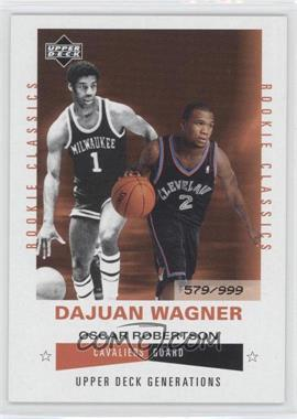 2002-03 Upper Deck Generations - [Base] #198 - Dajuan Wagner /999