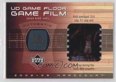 2002-03 Upper Deck Hardcourt - UD Game Floor Game Film #JK-FF - Jason Kidd