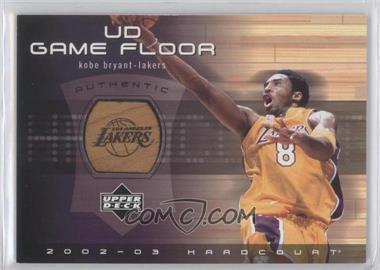 2002-03 Upper Deck Hardcourt - UD Game Floor #KB-F - Kobe Bryant