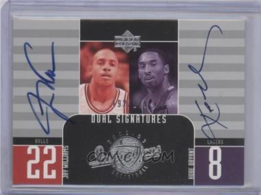 2002-03 Upper Deck Inspirations - [Base] #128 - Kobe Bryant, Jay Williams /275