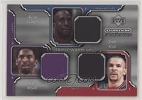 Kobe Bryant, Kevin Garnett, Jason Kidd