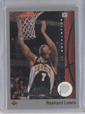 2002-03 Upper Deck UD Authentics - [Base] - Rainbow #79 - Rashard Lewis /50