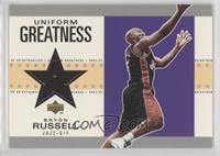Bryon Russell [Noted] #/1,950