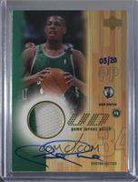 Paul Pierce (2001-02 UD Game Jersey) /20