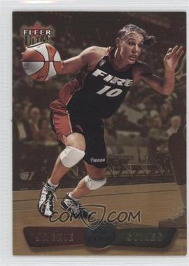 2002 Fleer Ultra WNBA - [Base] - Gold Medallion #1 - Jackie Stiles