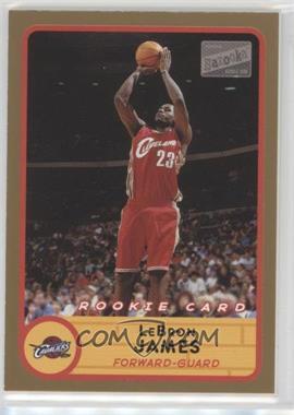 2003-04 Bazooka - [Base] - Gold #223 - Lebron James