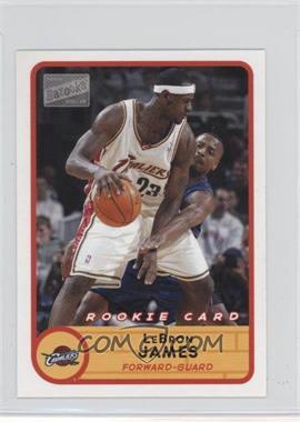 2003-04 Bazooka - [Base] - Mini #223.1 - Lebron James (white jersey)