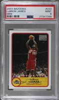 Lebron James (Road Jersey) [PSA 9]