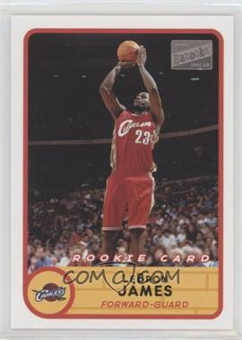 2003-04 Bazooka - [Base] #223.2 - Lebron James (Red Jersey Jump Shot)