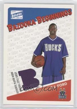 2003-04 Bazooka - Bazooka Beginnings Memorabilia #BBE-TF - T.J. Ford