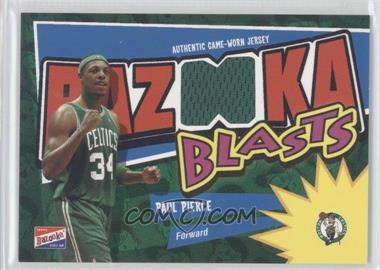2003-04 Bazooka - Bazooka Blasts Memorabilia #BB-PP - Paul Pierce