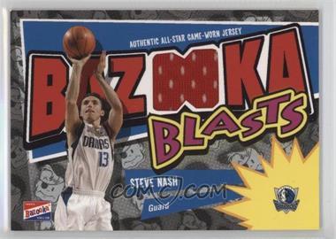 2003-04 Bazooka - Bazooka Blasts Memorabilia #BB-SN - Steve Nash