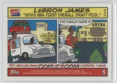 2003-04 Bazooka - Comic Strip #15 - Lebron James
