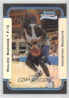 2003-04 Bowman Rookies & Stars - Chrome - Refractor #128 - Malick Badiane /300