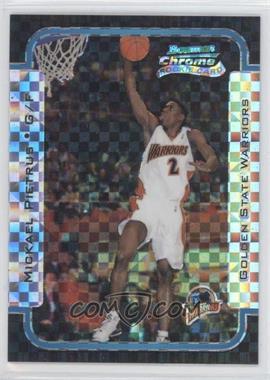 2003-04 Bowman Rookies & Stars - Chrome - X-Fractor #145 - Mickael Pietrus /150