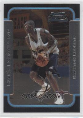2003-04 Bowman Rookies & Stars - Chrome #128 - Malick Badiane
